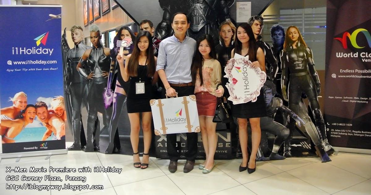 xmen movie premiere with i1holiday gsc gurney plaza