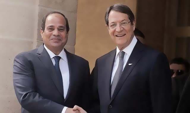 زيارة السيسى الى قبرص، الاجتماع الثلاثي مصر قبرص اليونان