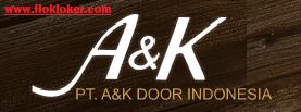 Lowongan Kerja PT A & K DOOR INDONESIA KIIC Karawang