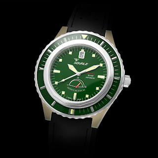 History of Bronze and watches article SQUALE%2BMaster%2BPowerreserve%2B600M%2BGreen%2BBRONZE