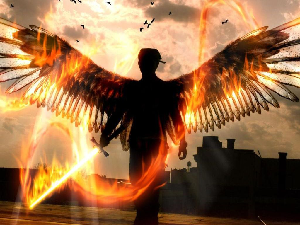 angel warrior sword wings - photo #24