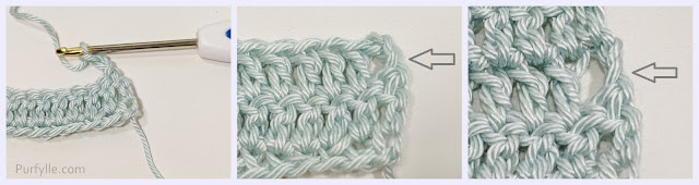 Starting Double Crochet Chain 3 Method
