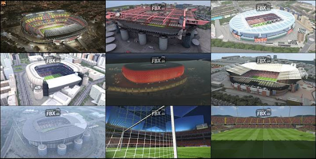 New Stadium Pack 2019 + FIX - PES 2017 - PATCH PES | New Patch Pro