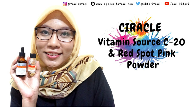 [REVIEW] Ciracle Vitamin Source C-20 & Ciracle Pimple Solution Red Spot Pink Powder