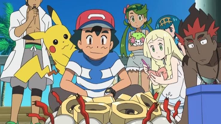 Pokemon season 22 Ultra legend images in H.D
