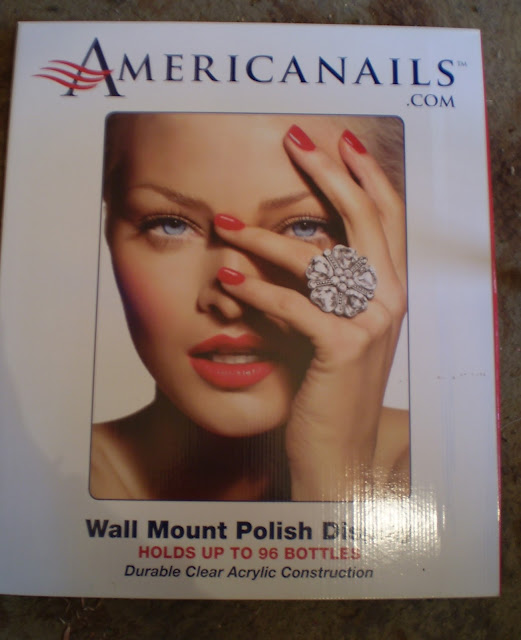 Wall Mount Nail Polish Display Box