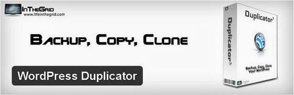 WordPress Duplicator backup plugin for WordPress