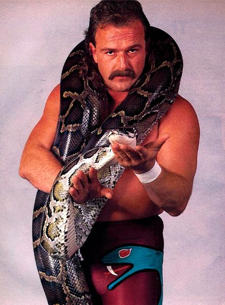 Pressing Catch WWF - Snake El Serpiente