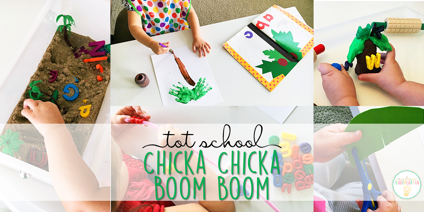 graphic relating to Chicka Chicka Boom Boom Printable Book identified as Tot University: Chicka Chicka Growth Growth - Mrs. Plemons Kindergarten