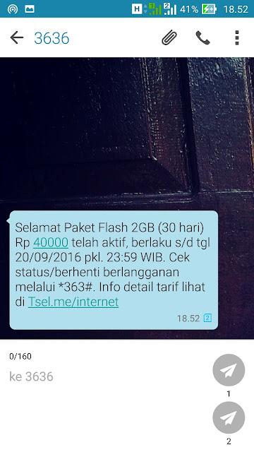 paket promo internet murah telkomsel agustus 2016
