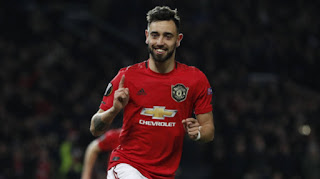 Manchester United Bruno Fernandes registered more assists than any Arsenal player in 2019/20