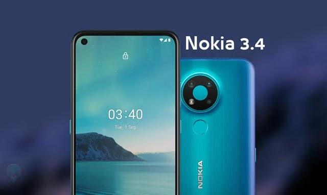 مواصفات وسعر هاتف نوكيا 3.4