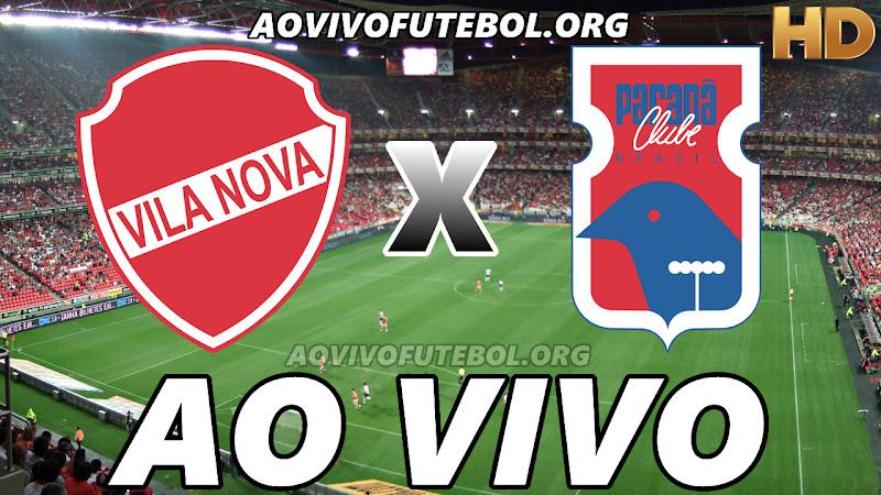 Vila Nova x Paraná Ao Vivo Online na TV