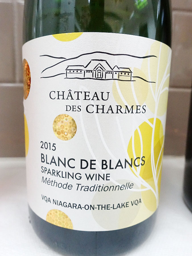 Château des Charmes Blanc de Blancs Sparkling 2015 (90 pts)