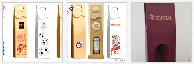pudełko ozdobne na alkohol