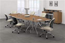 Bungee Conference Table Layout