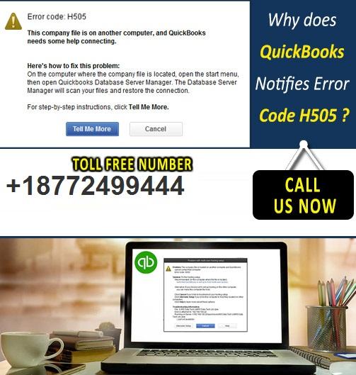 H505 quickbooks error fix