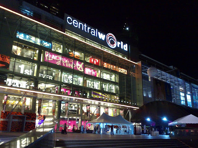 trung tâm mua sắm central world bangkok