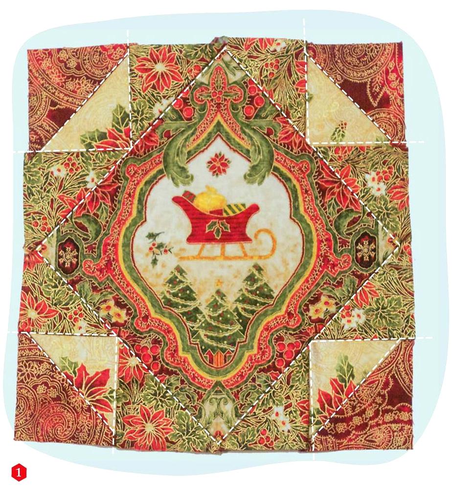 Лоскутное одеяло - пзчворк