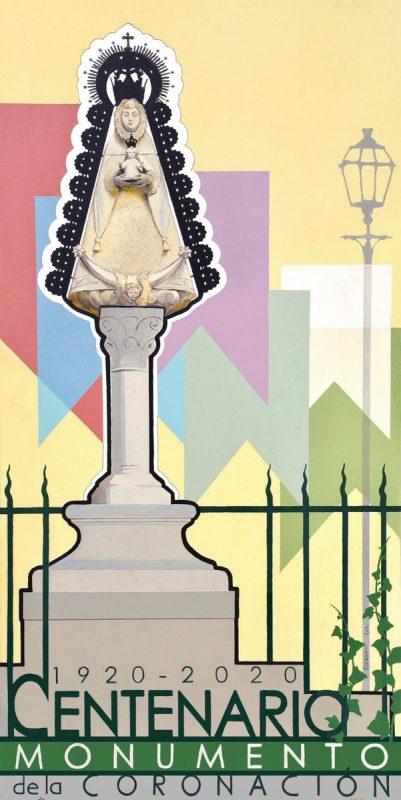 Presentado el cartel del centenario del monumento del Real del Rocío