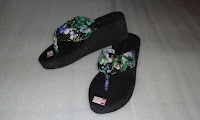 Sandal Spon Carvella Wedges Tasikmalaya murah