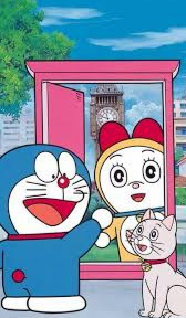 gambar Doraemon dan Dorami