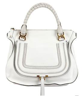 Chloe Marcie Large Zipped Tote