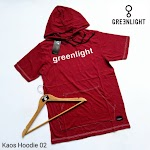 KAOS HOODIE GREENLIGHT KH02