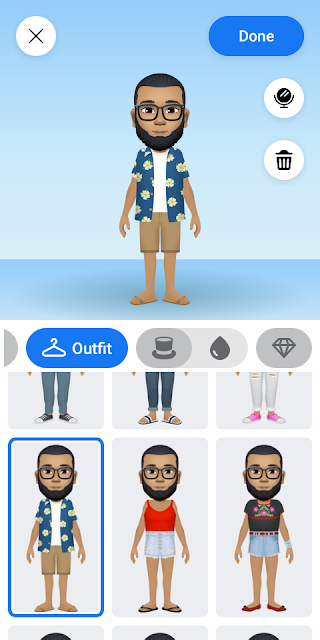Creating Avatar With Facebook App Due to the amount of questions I receive daily on facebook because of my Avatar profile picture and my personal Avatar comments,  i discovered that so many people love avatars but don't know how to create them, So i have decided to teach you how to create it.