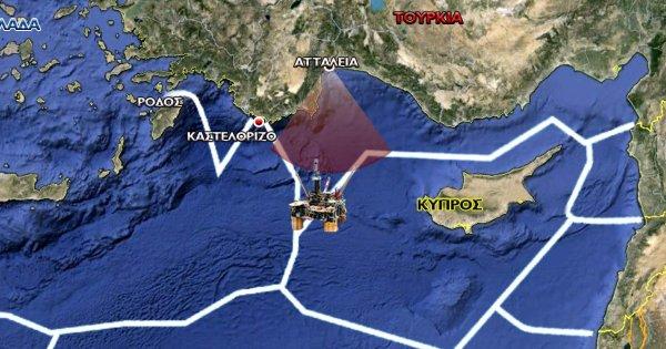 Θα χτυπούσε ποτέ η Ελλάδα, πλατφόρμα εξόρυξης τουρκική;