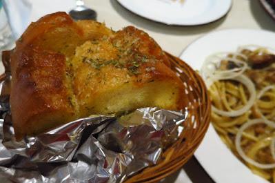 Pastaria Abate, garlic bread