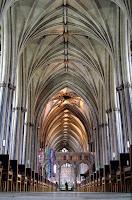 Sklepienie - Katedra w Bristolu