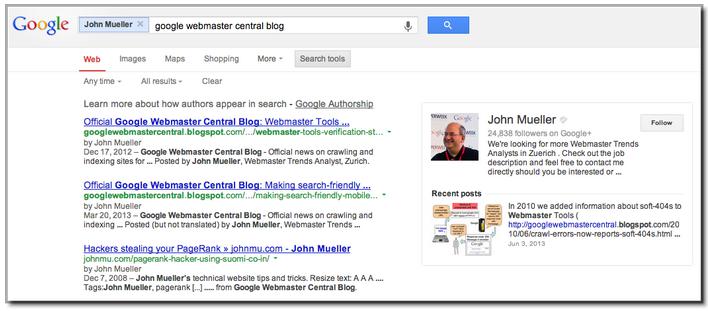 Official Google Webmaster Central Blog rel author frequently – Job Description for Webmaster