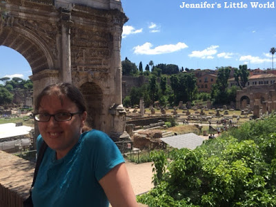 Visiting the Forum in Rome on a day trip
