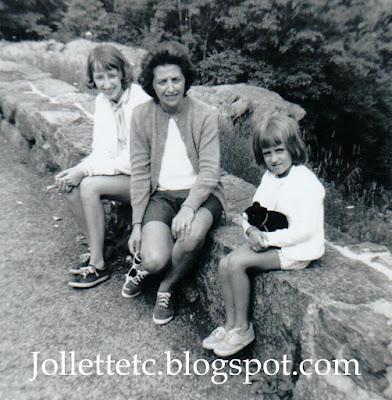 Wendy Slade, Mary E. Slade, Mary Jollette Slade Skyline Drive 1965 http://jollettetc.blogspot.com