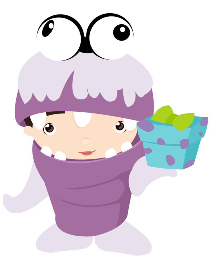 Baby Monsters Party Clipart. | Oh My Baby!