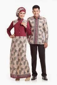 Model Baju Batik Muslim Terbaru
