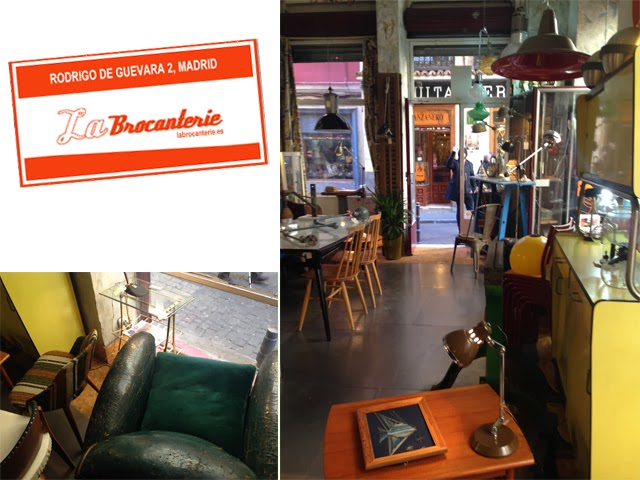 Boutique vintage La Brocanterie - Madrid