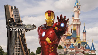 Iron Man At Disneyland Paris
