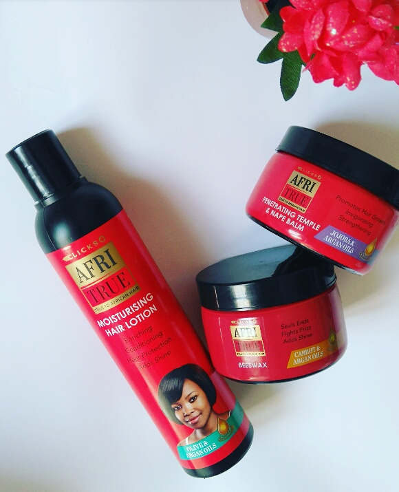 Review Clicks Afri True Hair Care Products