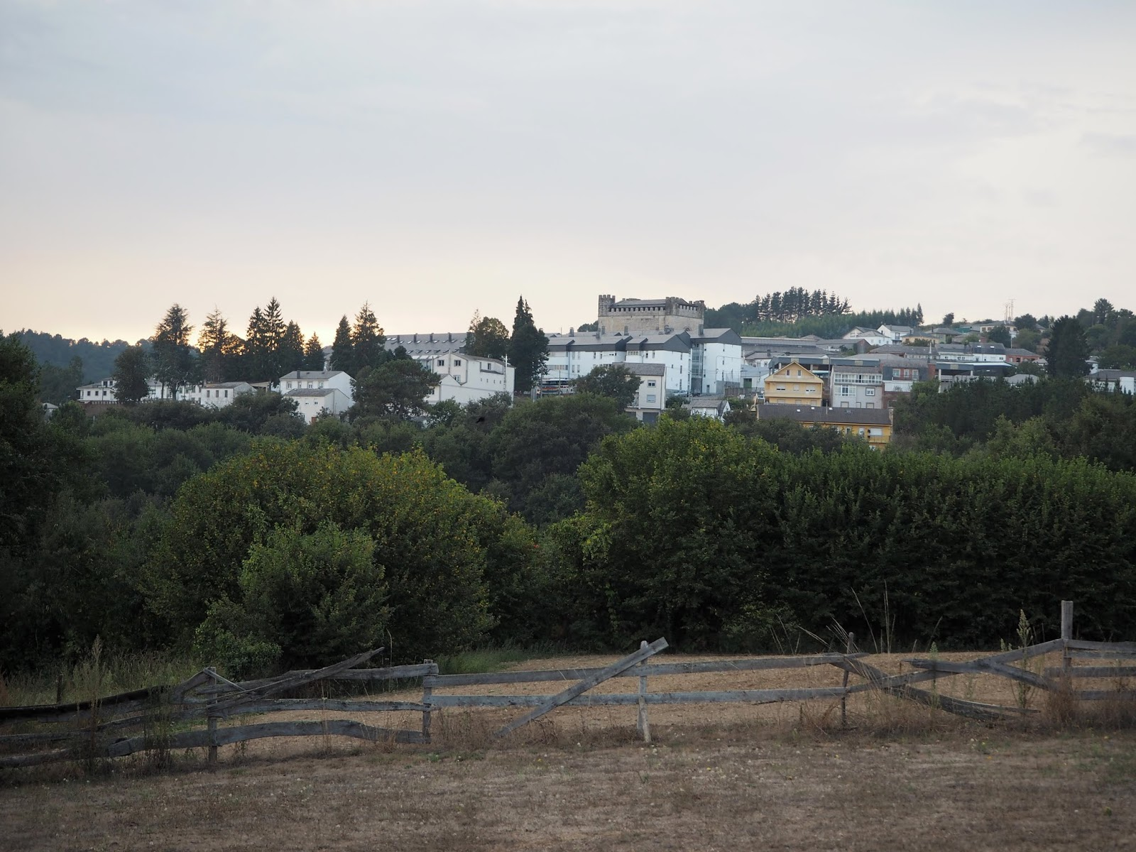 Portomarin in Galicia Spain