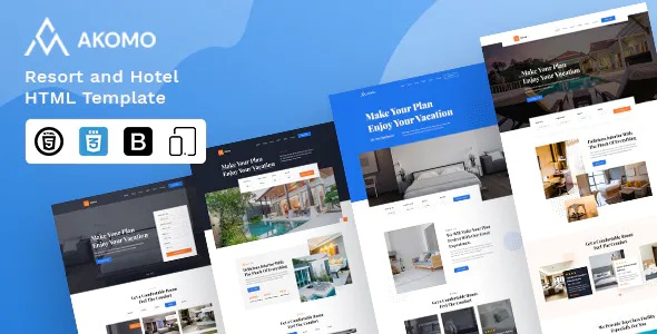 Best Resort and Hotel HTML Template