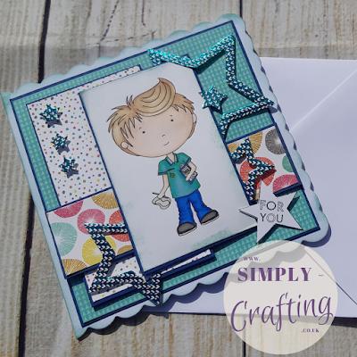 Polkadoodles For You, Nurse Handmade Card