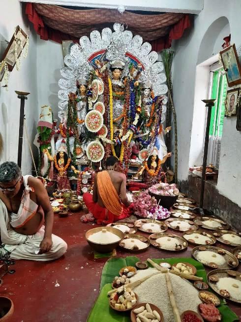 Durga Puja Rituals - Nabapatrika, Sandhi Puja To Debi Boron