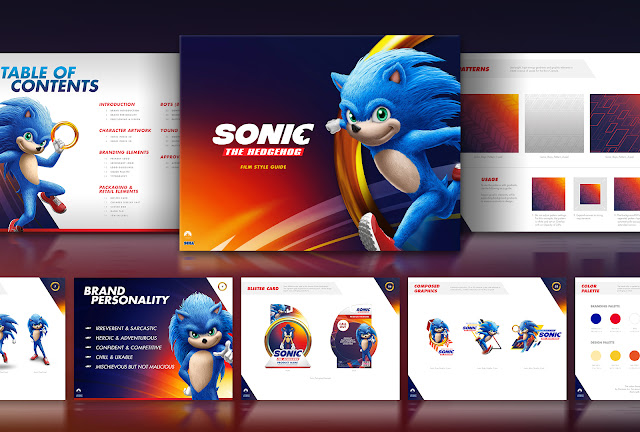 Inilah wujud Sonic dalam website perusahaan branding