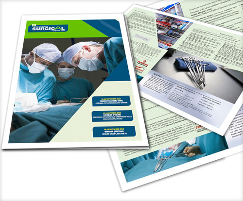 medical tools brochure