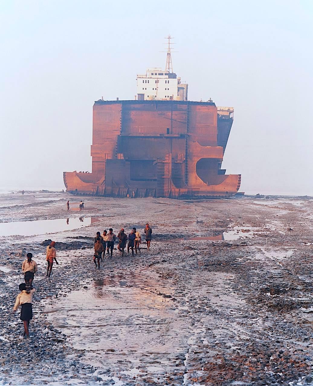 Edward Burtynsky Shipbreaking #21