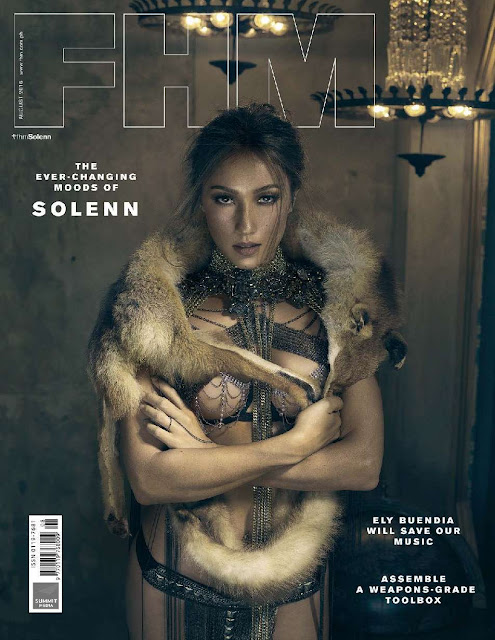 Solenn Heussaff on FHM Philippines' Cover Girl for August 2016