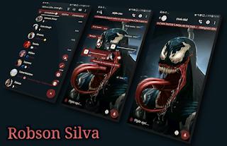 Marvel Venom Theme For YOWhatsApp & GB WhatsApp By Robson