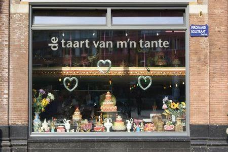 façade pâtisserie amsterdam